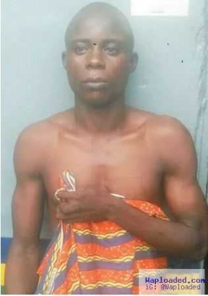 After getting shot in his eggplant, notorious serial killer gets arrested in Lagos (pics)